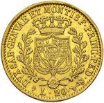 Carlo Felice (1821-1831) 20 Lire 1827 T - ...