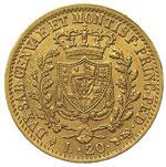 Carlo Felice (1821-1831) 20 Lire 1828 T L - ...