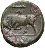 SICILIA Siracusa Agatocle (317-289 a.C.) AE ...