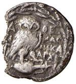 ATTICA Atene Dracma (138-137 a.C.) Testa ...