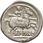 HISPANIA Osca Dracma (204-154 a.C.) Testa a ...