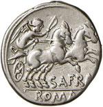 Afrania – Spurius Afranius - Denario (150 ...