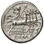 Antestia – L. Antestius Gragulus - Denario ...
