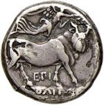 NEAPOLIS Didramma (325-241 a.C.) Testa di ...