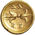 CALABRIA Taranto 1/12 Statere (334-330 a.C.) ...
