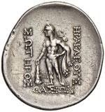 TRACIA Thasos Tetradramma - Testa di Dioniso ...