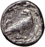 ELIDE Olimpia  Tetradramma (375-370 a.C.) ...