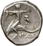 TARANTO Didramma (272-235 a.C.) Cavaliere a ...