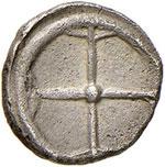 SIRACUSA Obolo (530-485 a.C.) Testa di ninfa ...