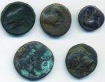 5 Bronzetti greci ...