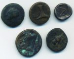 5 Bronzetti greci dell'Aiolis ecc. Con ...