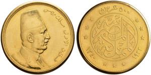 ÄGYPTEN - Fuad, 1917-1936 - 500 Piastres ...