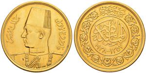 ÄGYPTEN - Farouk, 1937-1952 - 500 Piastres ...