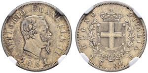 Vittorio Emanuele II. 1859-1878. 50 ...