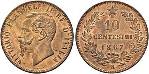 Vittorio Emanuele II. 1859-1878. 10 ...