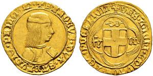 Savoia / Sardegna - Carlo I, 1482-1490. ...