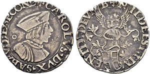 Savoia / Sardegna - Carlo II, 1504-1553. ...