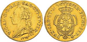 Savoia / Sardegna - Vittorio Amedeo III, ...