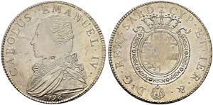 Savoia / Sardegna - Carlo Emanuele IV. ...