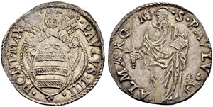 Vaticano - Stato Pontificio - Paolo IV, ...