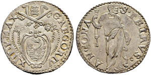 Vaticano - Stato Pontificio - Gregorio XIII, ...