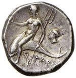 TARANTO Didramma (281-272 a.C.) Cavaliere a ...