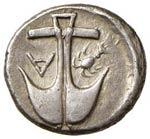 TRACIA Apollonia Pontica Dracma (450/400 ...