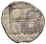MACEDONIA Acantos - Tetrobolo (424-380 a.C.) ...