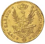 Vittorio Amedeo III (1773-1796) Doppia 1795 ...