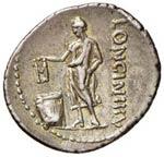 Cassia – L. Cassius Longinus - Denario (63 ...
