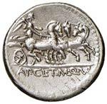Claudia – Ap. Claudius Pulcher - Denario ...