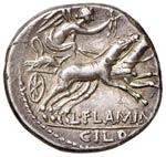 Flaminia – L. Flaminius Chilo - Denario ...