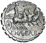 Naevia – C. Naevius Balbus - Denario (79 ...
