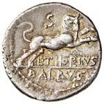 Thoria – L. Thorius Balbus - Denario (105 ...