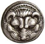 BRUTTIUM Rhegium Tetradramma (420-415/10 ...