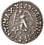 BACTRIA Antimachos (171-160 a.C.) Dracma - ...