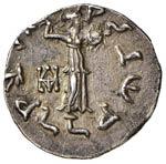 BACTRIA Menandro (160-145 a.C.) Dracma - ...