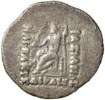 BACTRIA Heliocles (135-110 a.C.) Dracma - ...