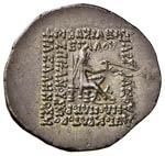 PARTHIA Mitridate II (123-88 a.C.) Dracma - ...