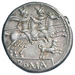 Antestia - C. Antestius Labeo - Denario (146 ...