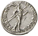 Traiano (117-138) Denario - Busto laureato a ...