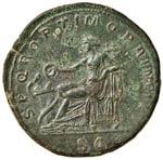 Traiano (98-117) Sesterzio - Busto laureato ...