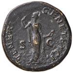 Sabina (moglie di Adriano) Sesterzio - Busto ...