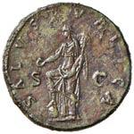 Adriano (117-138) Dupondio - Busto radiato a ...