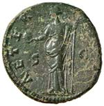 Faustina I (moglie di Antonino Pio) Asse - ...
