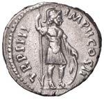 Lucio Vero (161-168) Denario - Testa a d. - ...