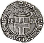 Carlo II (1504-1553) Testone di VIII tipo ...