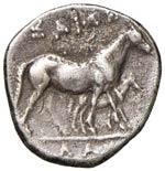 TESSAGLIA Larissa Didramma (395-344 a.C.) ...