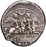 ROMA REPUBBLICA Anonime - Denario (207 a.C.) ...