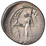 Cesare (+ 44 a.C.) Denario - Testa laureata ...